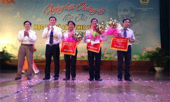 Ngày hội tháng 5 – Học tập và làm theo tấm gương đạo đức Hồ Chí Minh