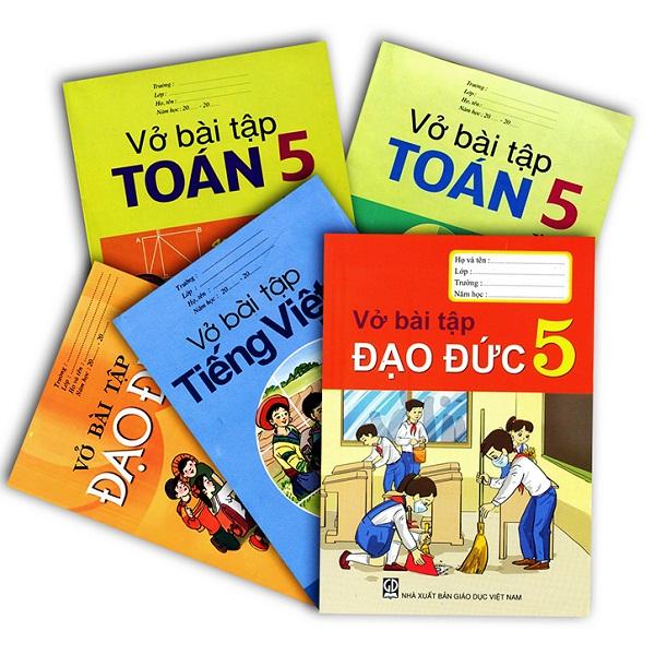 Bộ sách giáo khoa bài tập lớp 5