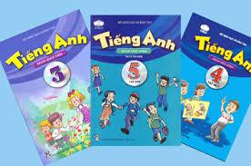 Sách tiếng anh lớp 3 – 4 – 5